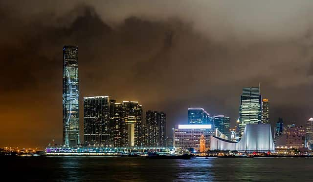 Bild vom ICC in Hong Kong